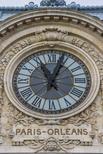 Musée d'Orsay (ancienne gare d'Orsay - gare) détail, Paris
