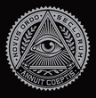 All Seeing Eye Vector - 52406059