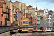 Colorful houses of Girona, Spain