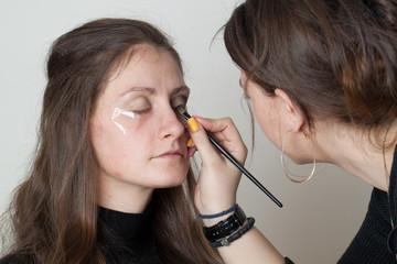 Woman makeup