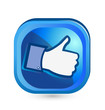 Facebook like it thumb up button