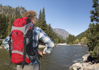 North Cascades Hiker
