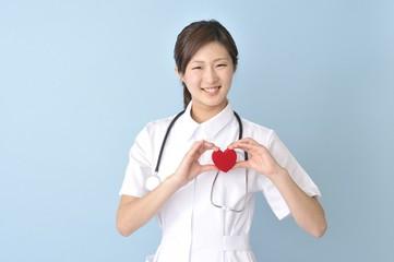 ハートを持つ看護師
