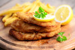 Schnitzel, Zitrone