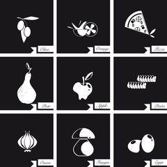 Simboli per la gastronomia