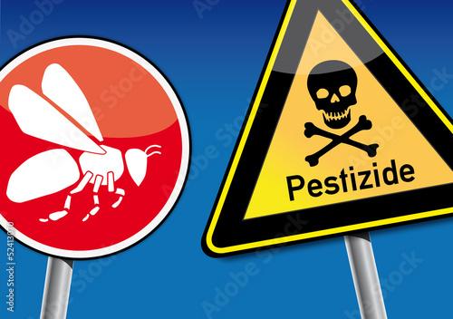 Pestizide gefährden Bienen, Bienensterben