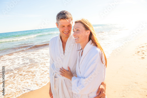 wellness summer couple
