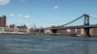 View of Lower Manhattan & Manhattan Bridge