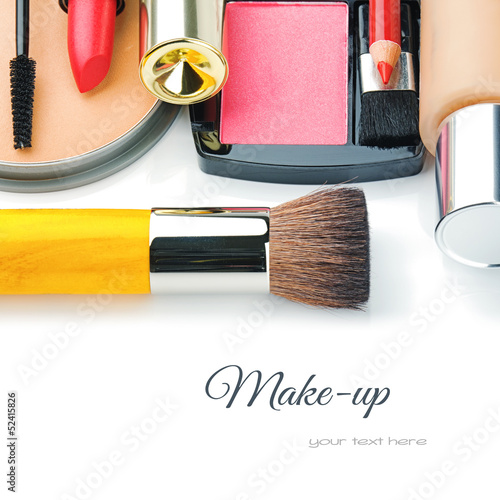 Colorful make-up products - 52415826