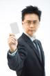 businessman name card