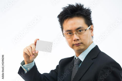 businessman name card