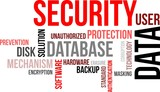 word cloud - data security