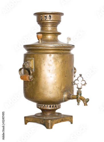 Old antique samovar