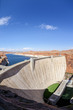 vertical view of Glen Dam in Page