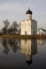 Church of Intercession upon Nerl River. (Bogolubovo, Russia)