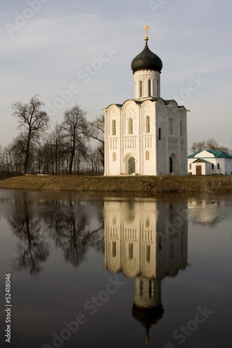 Church of Intercession upon Nerl River. (Bogolubovo, Russia)