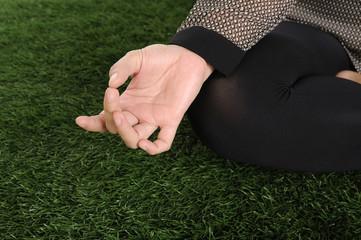Yoga Hand Gesture