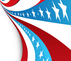 4th july american independence day vector illustration