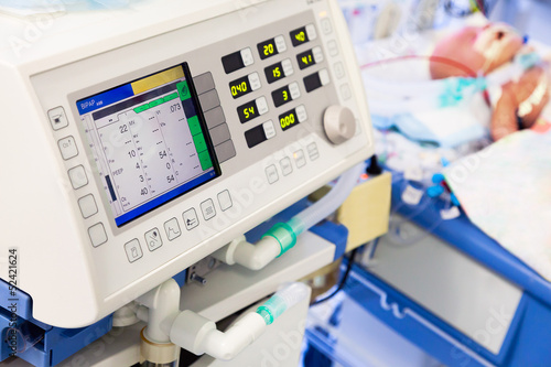 Artificial lung ventilation