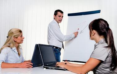 Bildung bei Mitarbeiter Schulung von Erwachsenen