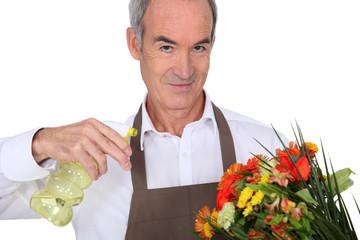 Florist with vaporizer