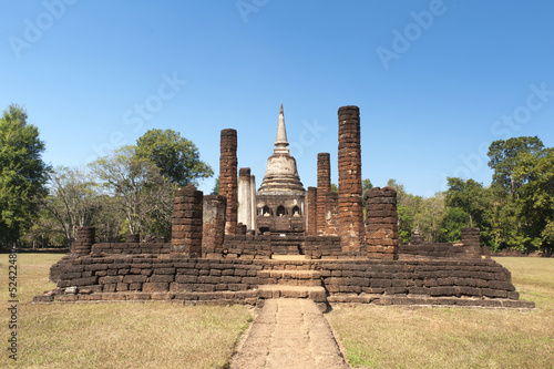 Wat Chang Lom in Sukhothai Historical Park
