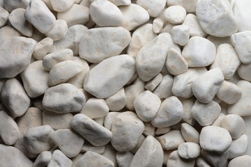 Piedras, bolo blanco