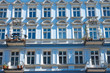 Detail of a restored house in Berlin