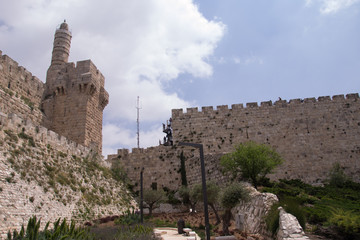 .David`s Tower-symbol Jerusalem