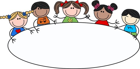 mixed ethnic children header