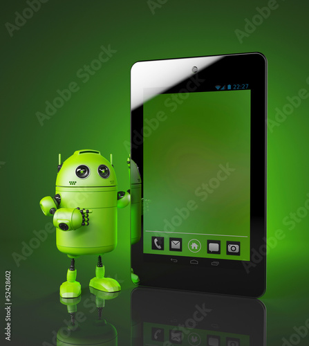 Android with tablet pc