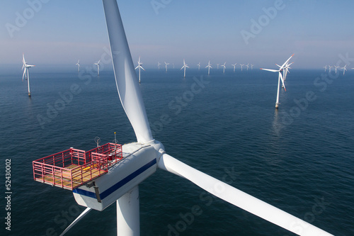Close up of turbine with hoist basket - 52430002