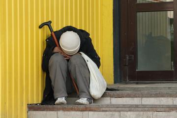 homelessness, clochard