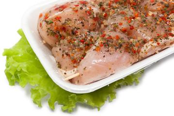 Chicken raw kebab