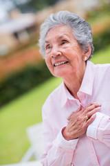 Sweet elder woman