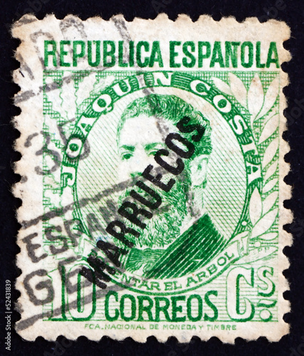 Postage stamp Spain 1931 Joaquin Costa, Politician