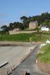Bretagne, the beach of Trestrigniel in Perros Guirec
