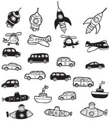 Vehicles symbols