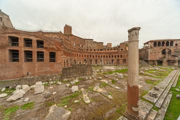 Roma, i Mercati di Traiano (scorcio)