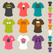 Set t-shirt fashion