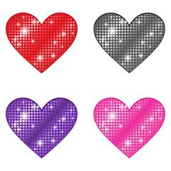 Glittering Hearts