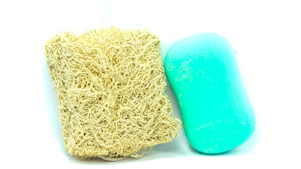 Loofah and soap