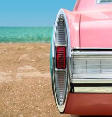 Pink Classic Car