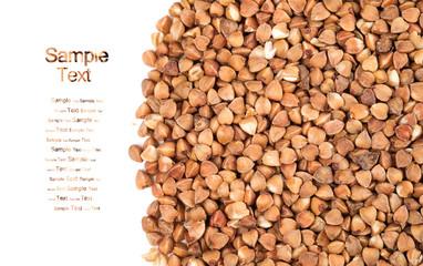 Background of buckwheat