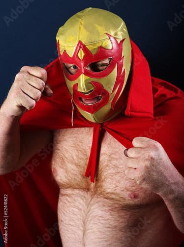 Luchador portrait