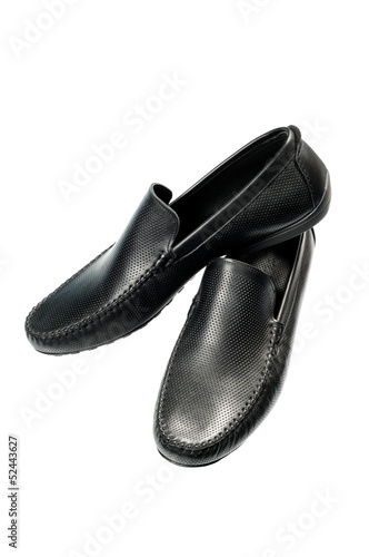 black man's shoes