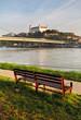 Bratislava castle and river Danube