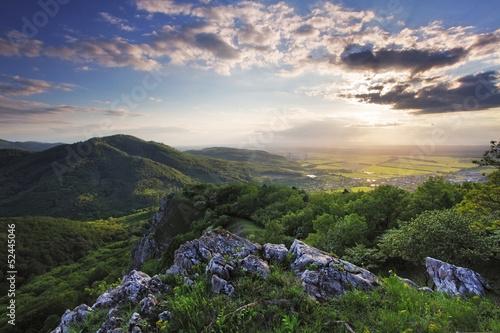 Fototapeten,landschaft,berg,sonnenuntergänge,sonne