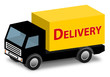 Delivery Truck Icon 3D