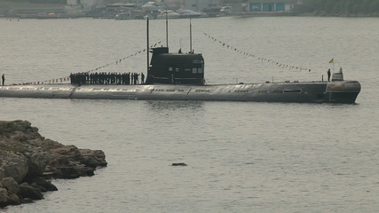 Moored Submarine